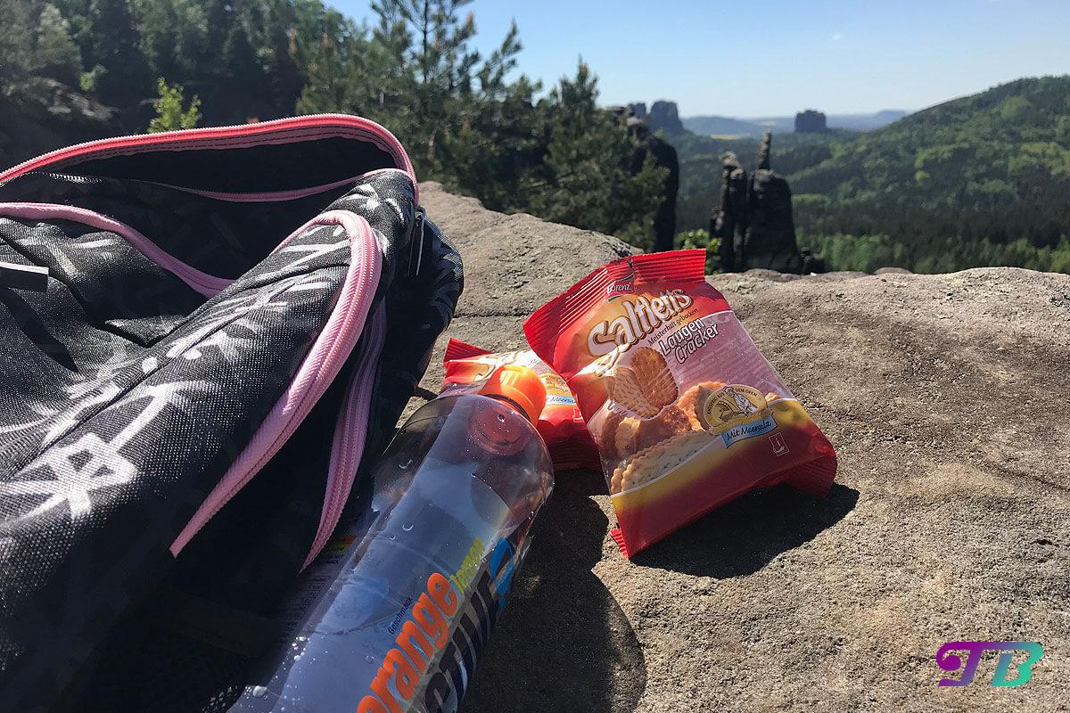 Saltletts Laugen Cracker Snack Wanderung Ausflug