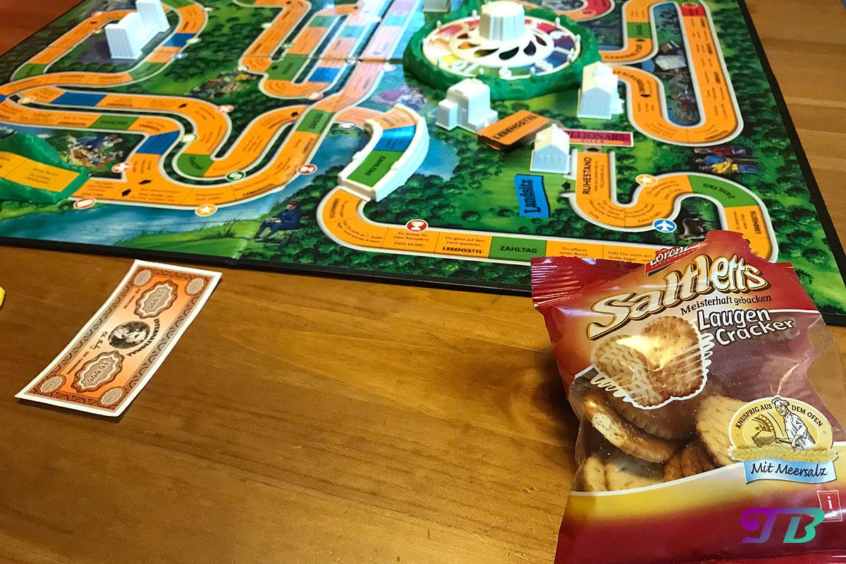 Saltletts Laugen Cracker Spiele Abend Snack