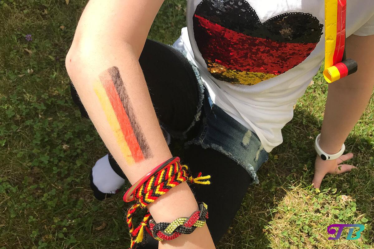 Fussball-WM 2018 – Wir sind für das Spiel Deutschland gegen Südkorea bereit