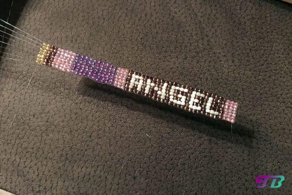 Rocailles Perlen Armband Angel