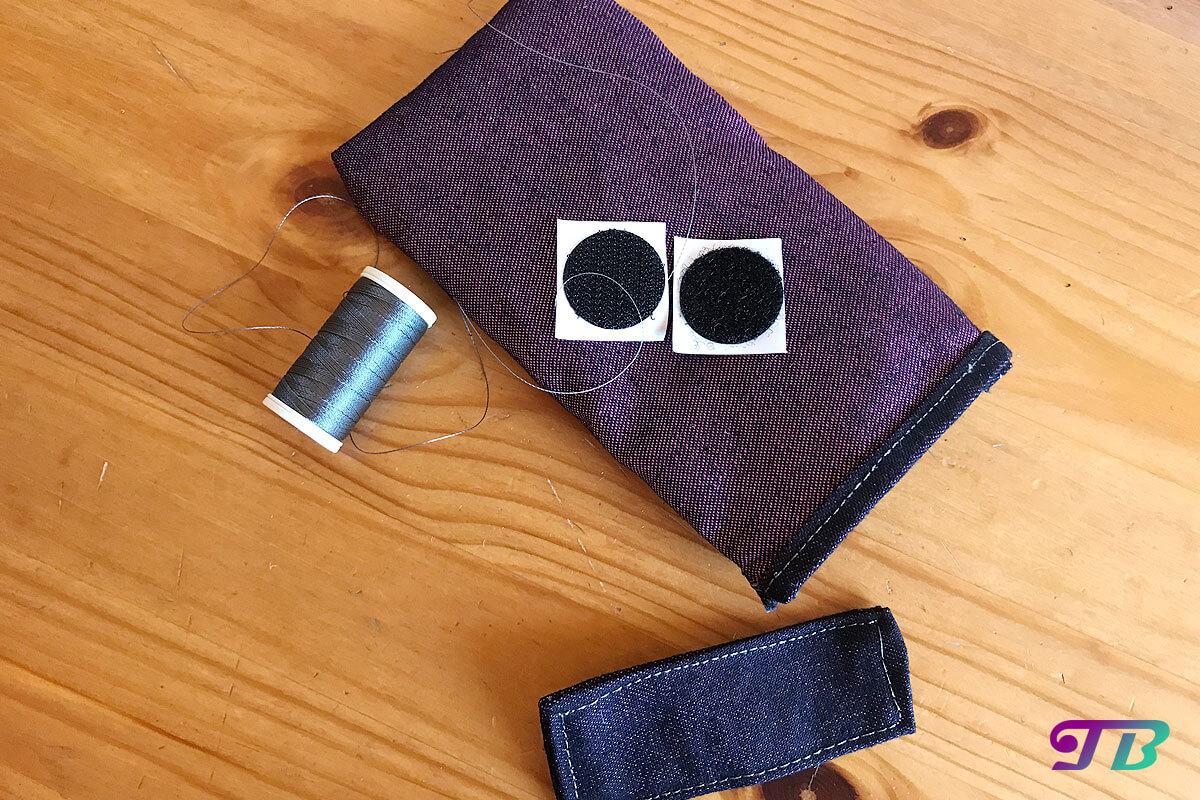 Handytasche Case Verschluss Material DIY