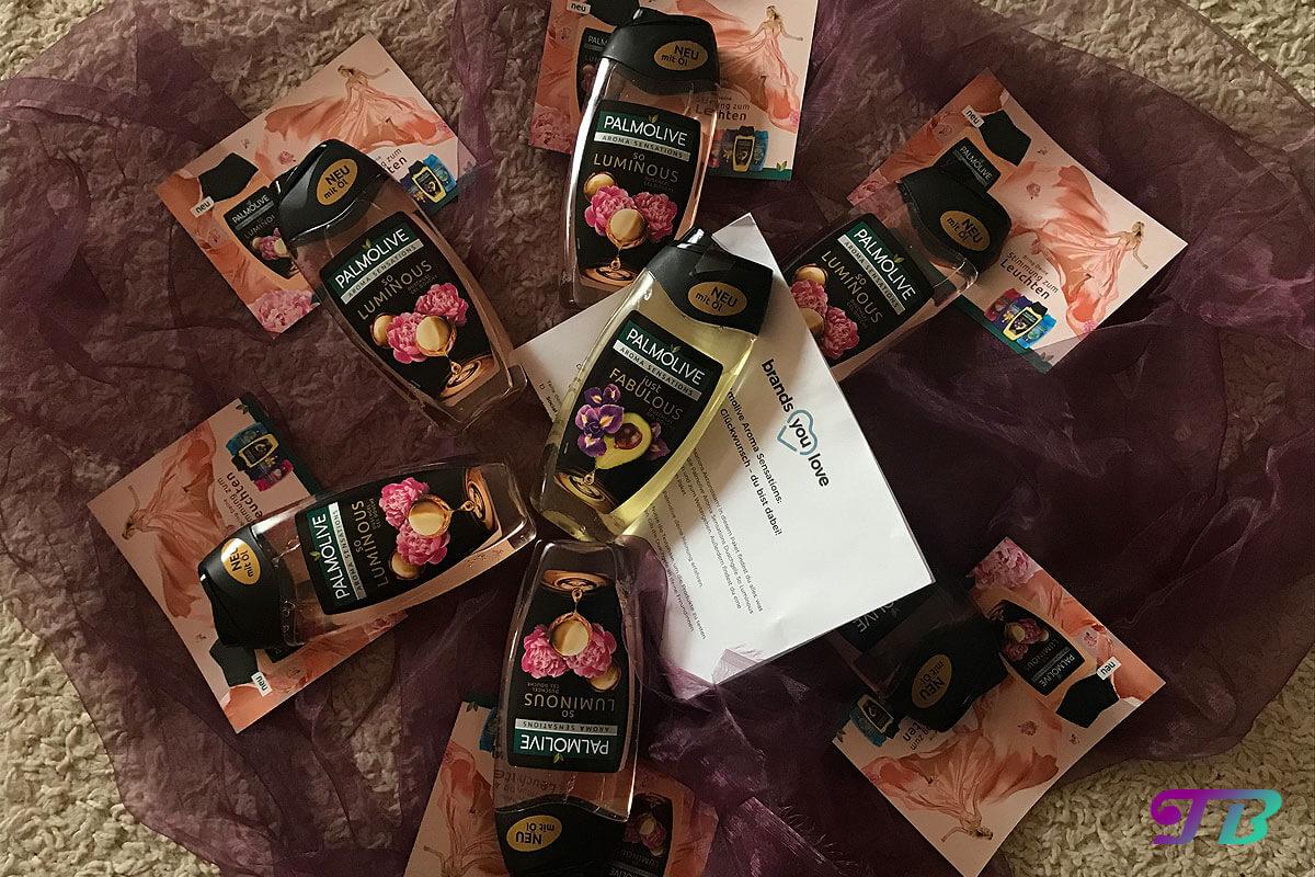 Palmolive Aroms Sensations Oils So Luminous Testpaket brandsyoulove