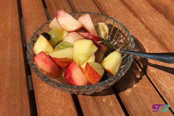 Obstsalat pur genießen