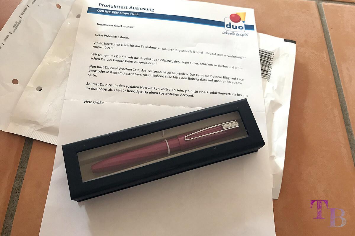 ONLINE Pen Slope Füller Produkttester
