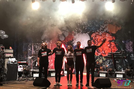 Vanessa Mai Supersause zu Hause Backnang 2018 Band
