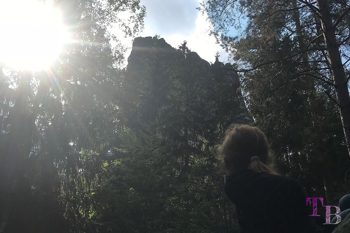 Affensteine Sächsische Schweiz Affensteinweg Felsen