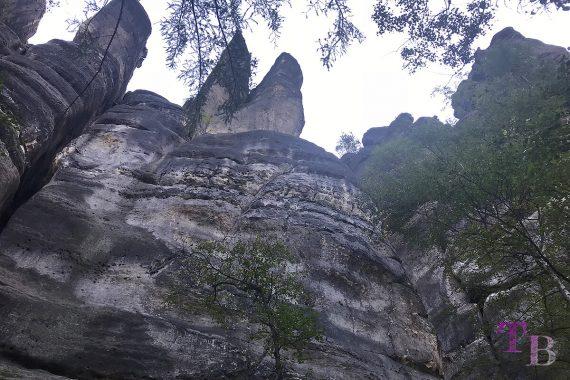 Affensteine Sächsische Schweiz Felsen
