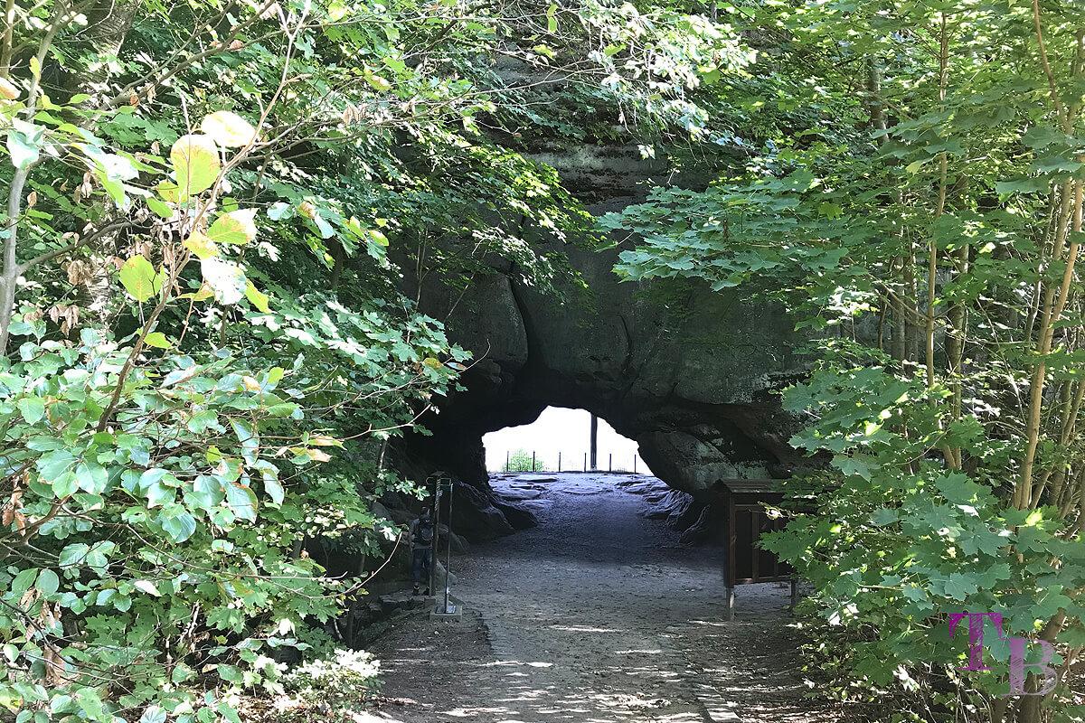 Affensteine Sächsische Schweiz Felsentor Kuhstall