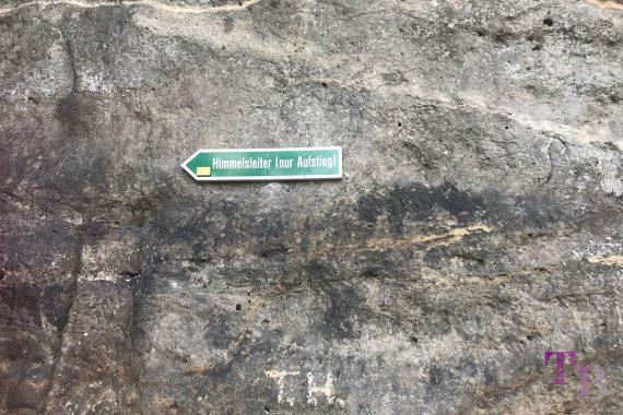 Affensteine Sächsische Schweiz Himmelsleiter Aufstieg Kuhstall