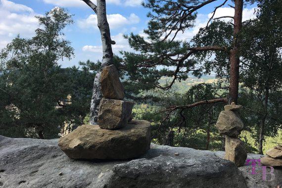 Affensteine Sächsische Schweiz Steinfigur