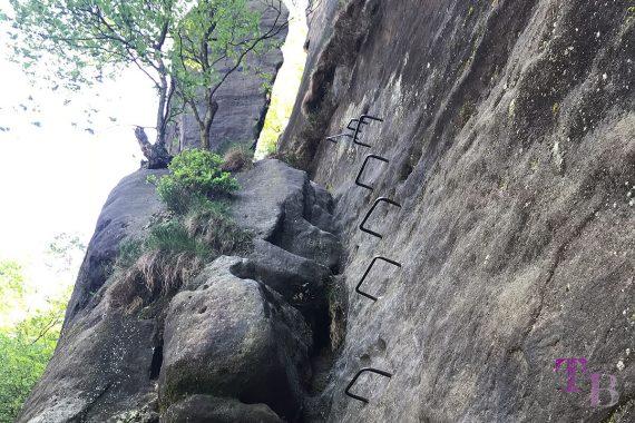 Affensteine Sächsische Schweiz Zwillingsstiege Steigbügel