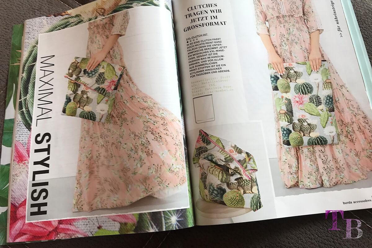 burda accessoire-Magazin Inhalt Clutch