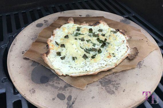 Flammkuchen DIY Käse fertig