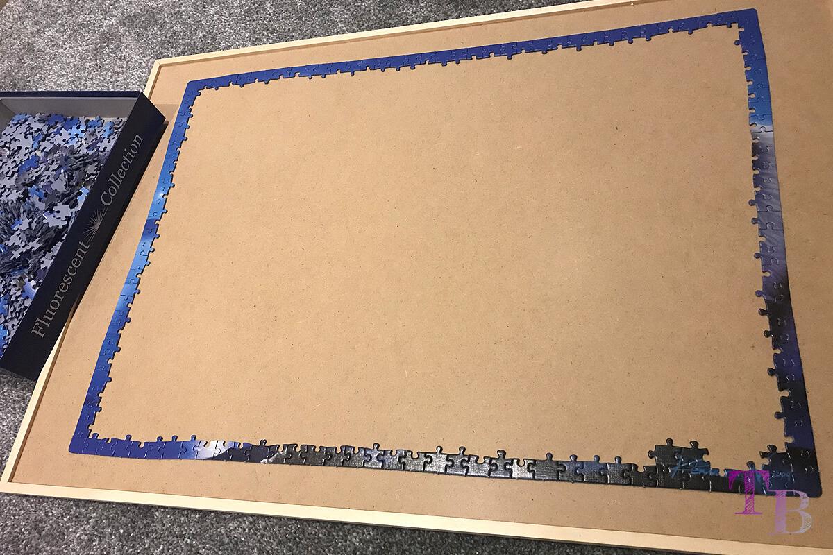 Puzzle Brett DIY fertig puzzeln