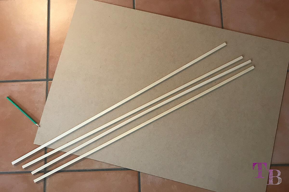 Puzzle Brett DIY Material Platte Leisten Holz