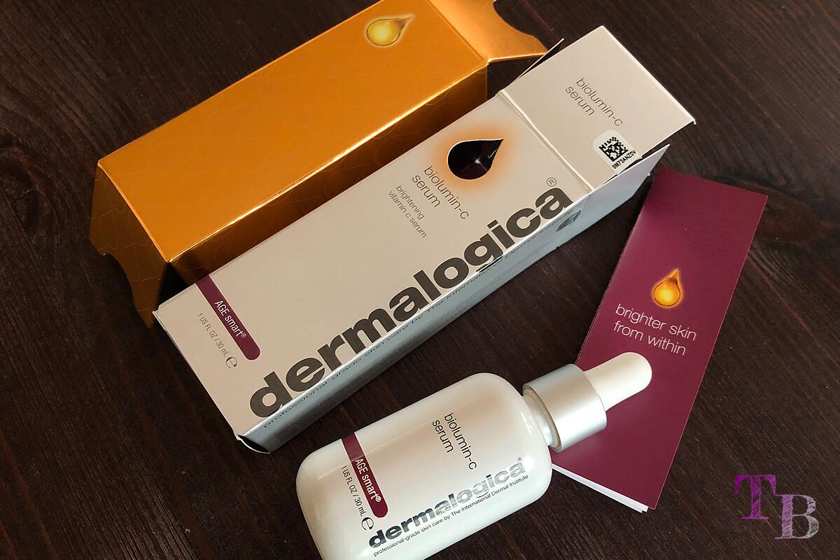 Dermatologica BioLumin-C Serum Flasche Verpackung Beilage