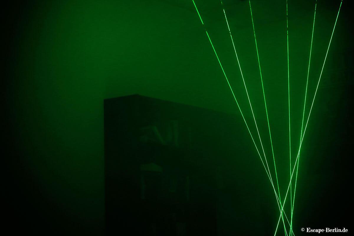 Escape Berlin Live Game Theater Big Päng Spiel Laser