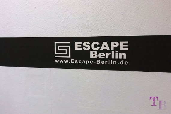 Escape Berlin Live Game Theater Banderole