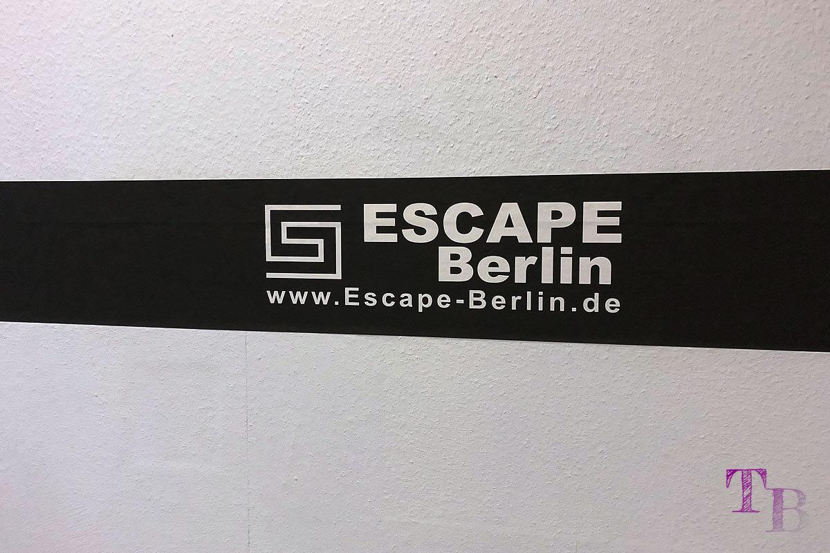 Escape Berlin Live Game Theater Banderole
