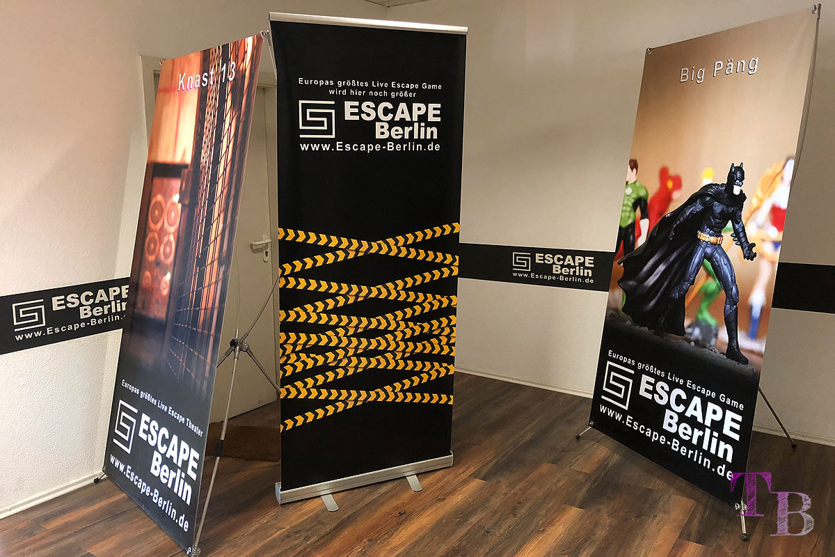 Escape Berlin Live Game Theater Big Päng Spiel