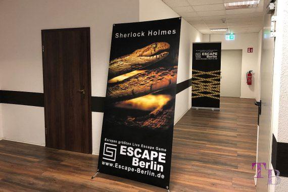 Escape Berlin Live Game Theater Sherlock Holmes