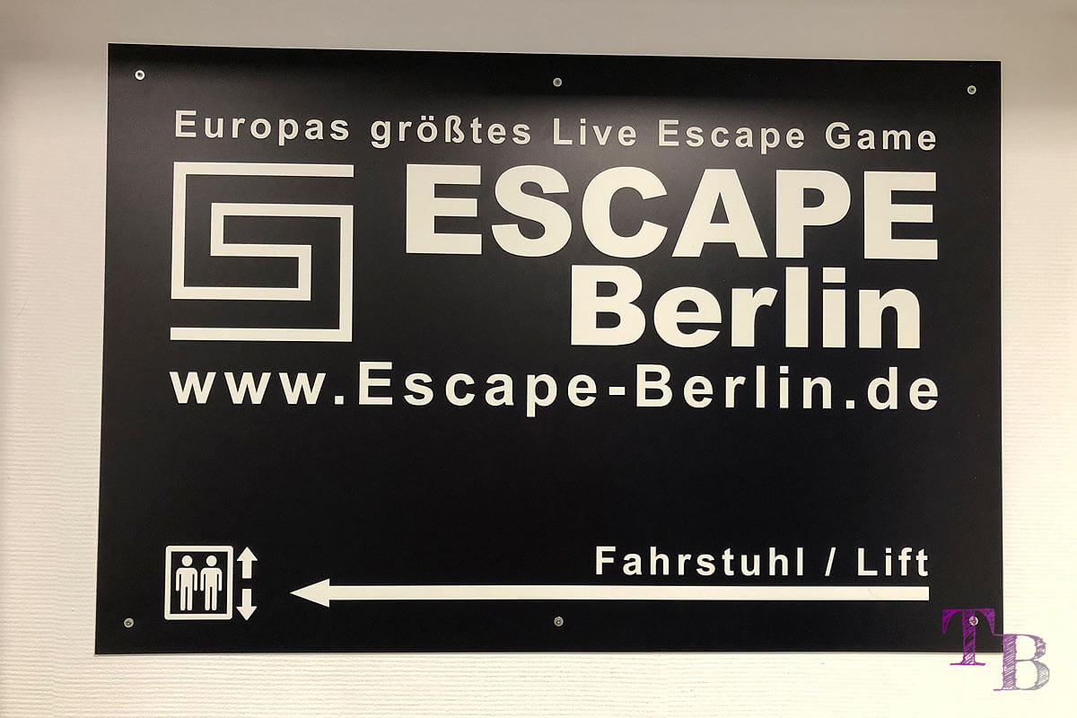 Escape Berlin Live Game Theater Wegweiser
