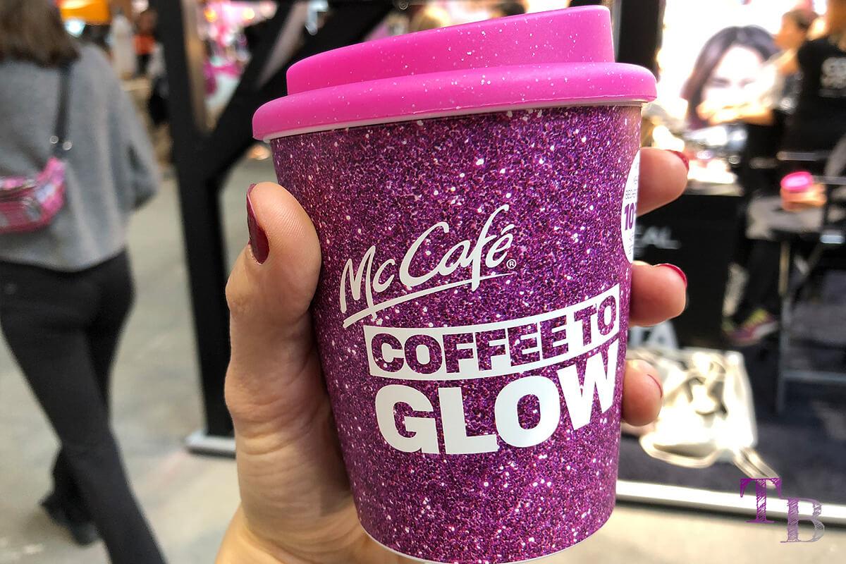 GLOW by dm Station Berlin 2018 Mc Café Coffee to go