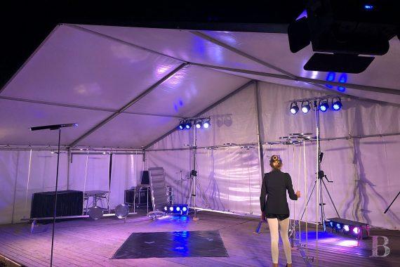 Irrgarten Kleinwelka Geisternacht 2018 Programm Akrobatik Teller jonglieren