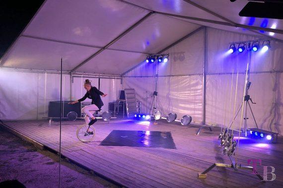 Irrgarten Kleinwelka Geisternacht 2018 Programm Akrobatik Einrad