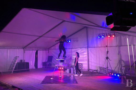 Irrgarten Kleinwelka Geisternacht 2018 Programm Akrobatik Balancieren