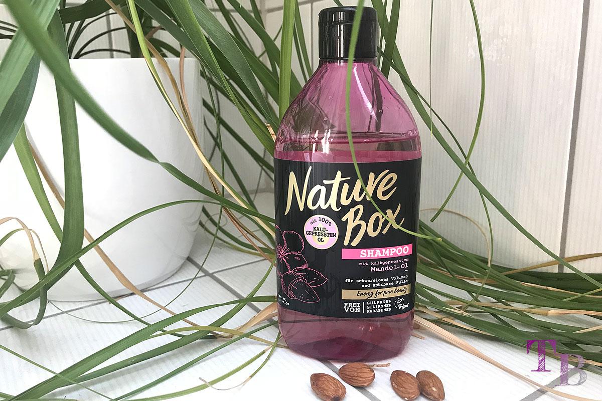 Nature Box Mandelöl kaltgepresst Shampoo
