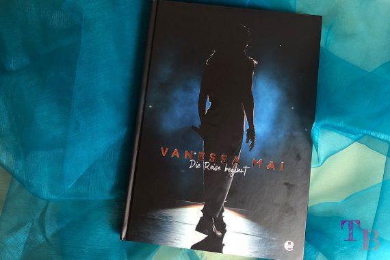 Vanessa Mai Buch Die Reise beginnt Einblicke ofizielles Bildband Cover