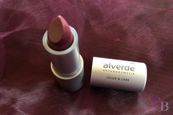 alverde Naturkosmetik Color & Care Lippenstift Fairytale Plum
