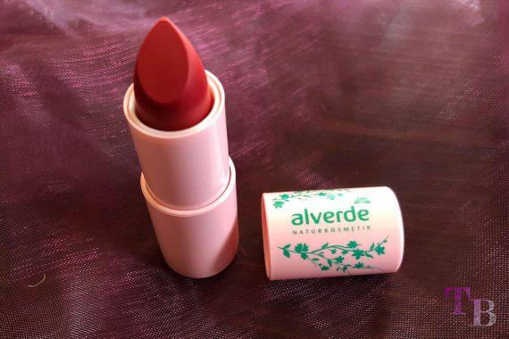 alverde Naturkosmetik Naturzauber Lippenstift Ruby Red