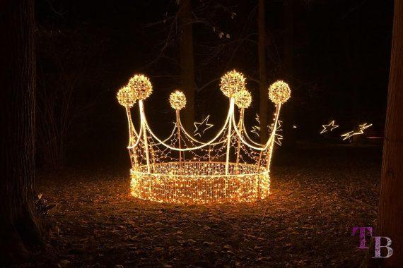 Christmas Garden Dresden Kronjuwelen Krone
