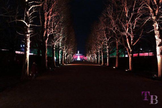 Christmas Garden Dresden magische Maillebahn