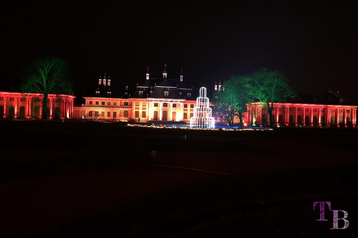 Christmas Garden Dresden magischer Traumbrunnen Wasserpalais