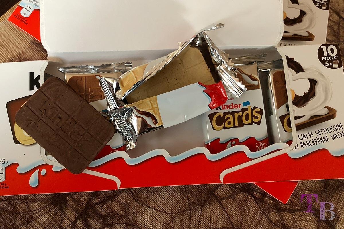 kinder Cards Doppelpack Portionen