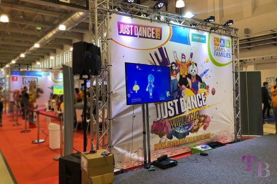 spielraum Messe Dresden Digitalwelt Just Dance