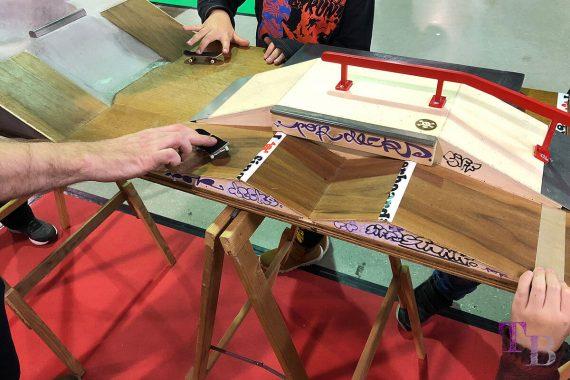 spielraum Messe Dresden Fingerboards Rampe