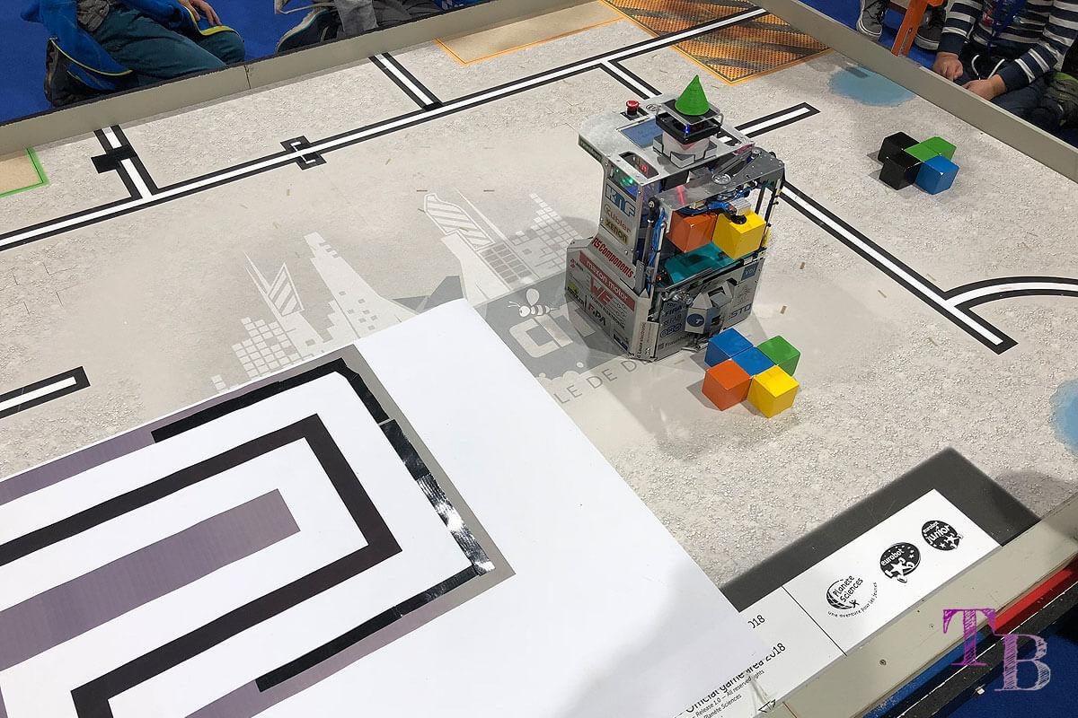 spielraum Messe Dresden TU TURAG Robotik