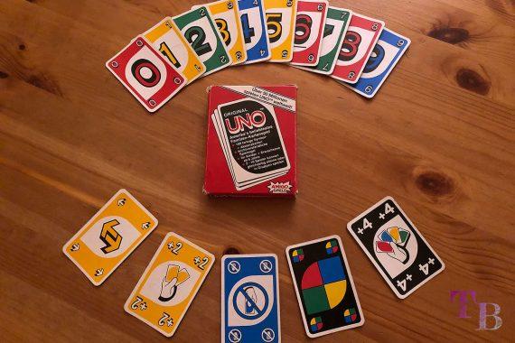 UNO Extreme Karten Spiel Original Kartenspiel Aktionskarten