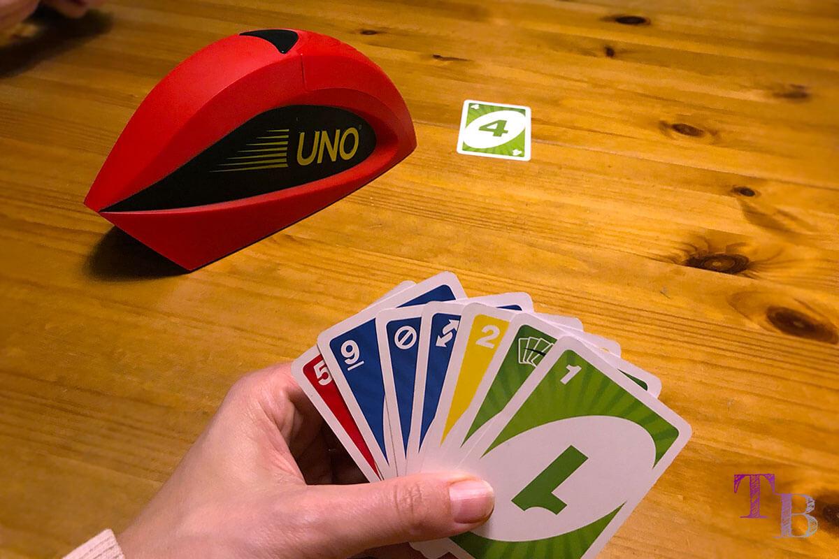 UNO Extreme Karten Spiel Punkte Karten Hand