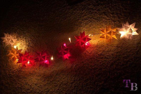 Bascetta Sterne Lichterkette fertig