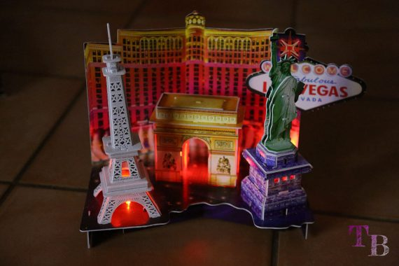 3D Puzzle Las Vegas Lidl LED beleuchtet