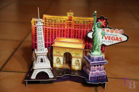 3D Puzzle Las Vegas Lidl fertig