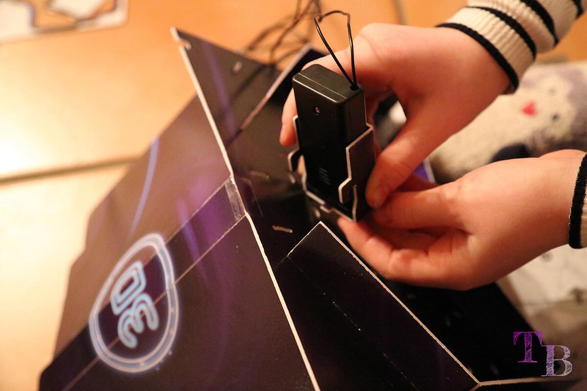 3D Puzzle Las Vegas Lidl Batteriefach