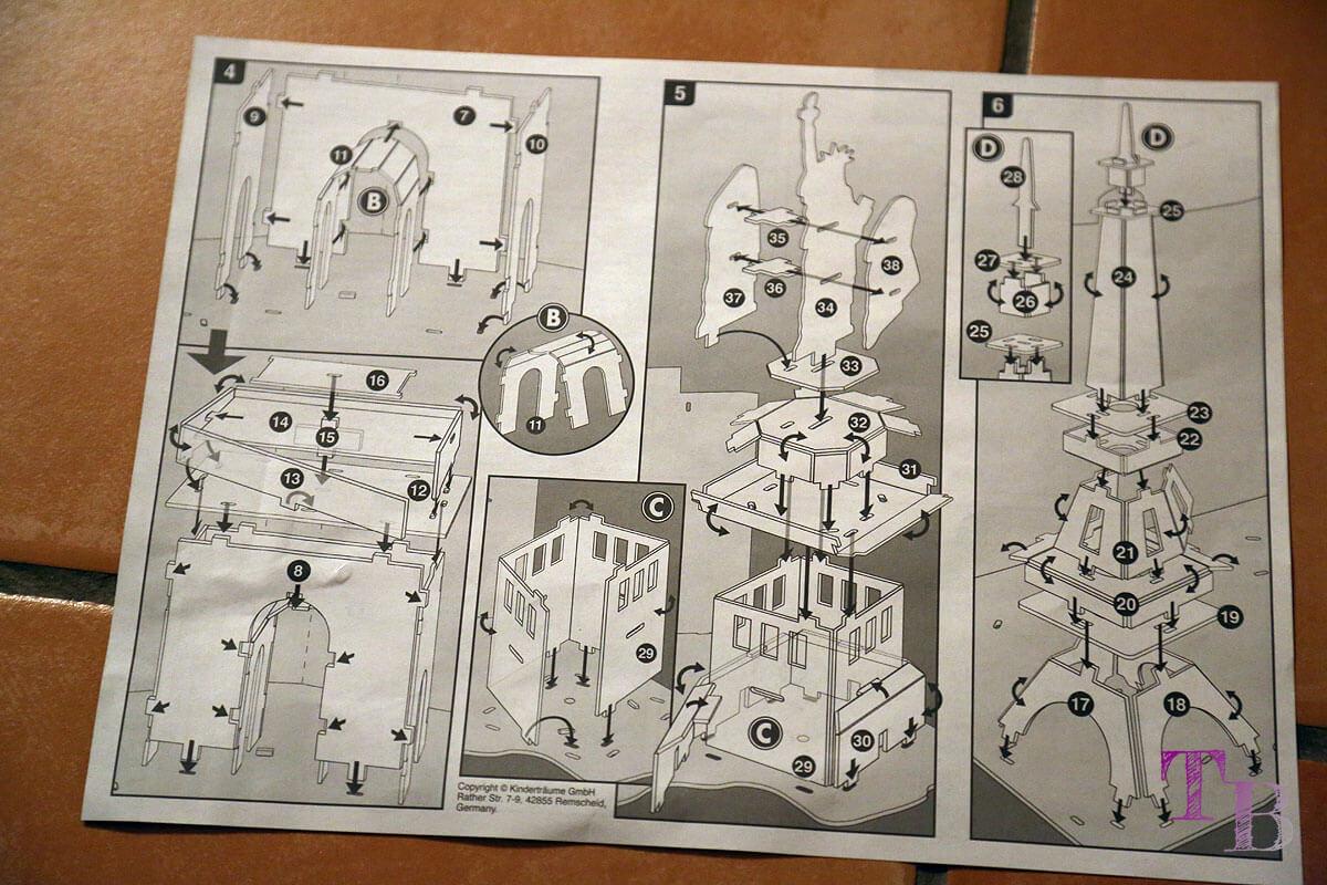 3D Puzzle Las Vegas Lidl Bauanleitung