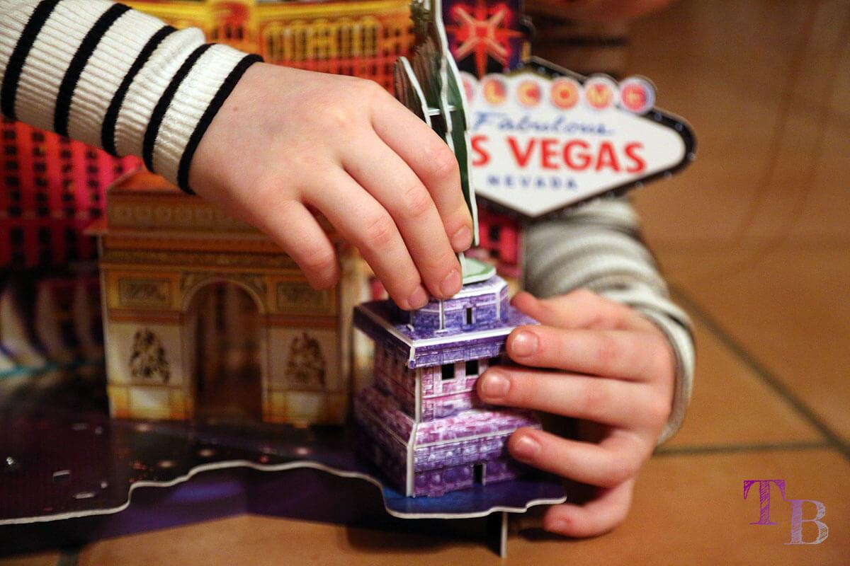 3D Puzzle Las Vegas Lidl Freiheitsstatue