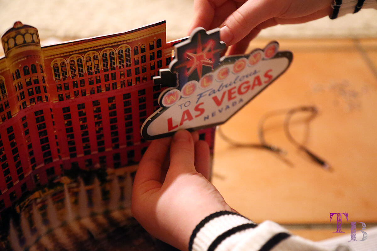 3D Puzzle Las Vegas Lidl Schild